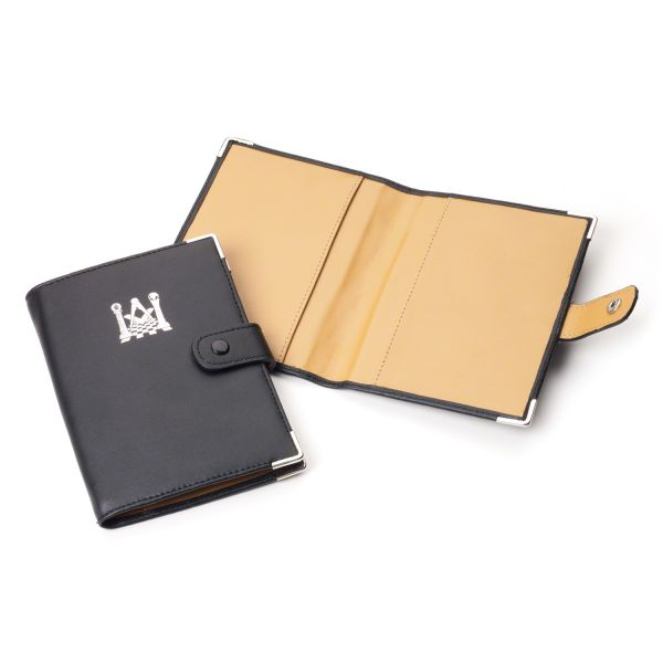 Library Size Masonic Soft Faux Leather Ritual Book Cover