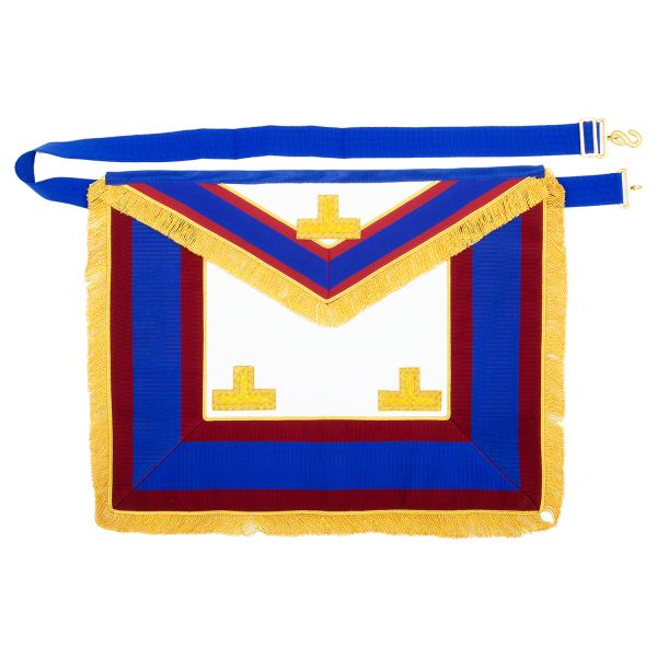 Mark Lambskin Provincial Full Dress Apron with Levels